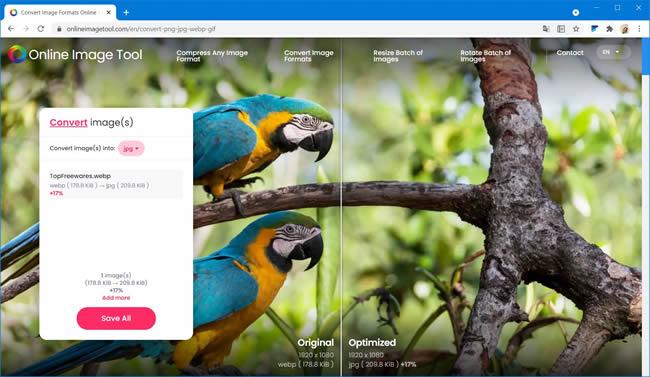 online image tool webp